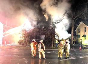 Lancaster Village Structure Fire. 31 Pleasant Ave.