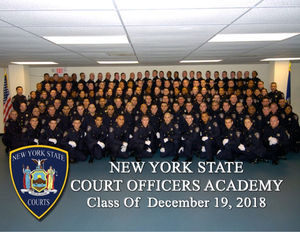 Congratulations to the NYS Court Officers Police Academy