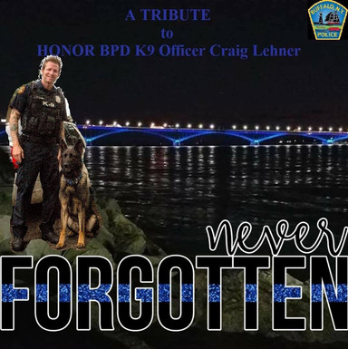 A Tribute to Craig Lehner. Tonight at Lasalle Park