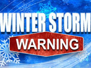Winter Storm Warning Issued By NWS.