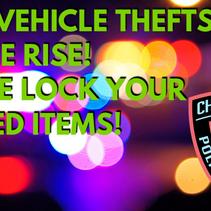 Cheektowaga Police Reporting Sharp Rise In Vehicles Thefts.