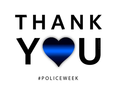 Sending All Officers Out There A Very Special THANK YOU!