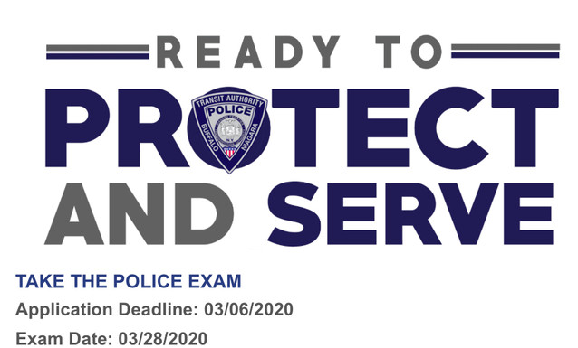 Take the NFTA Police Exam. Join The Greatest Job In America!