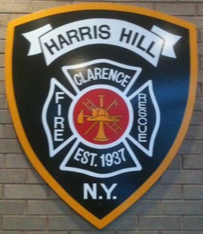 Harris Hill Firefighters Respond to Wheelchair Bus Accident.