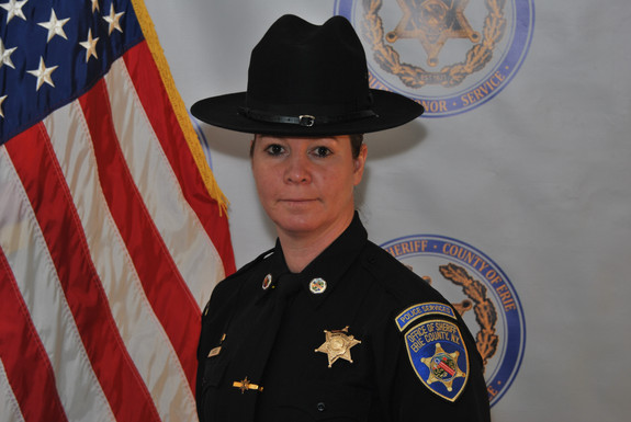 DETECTIVE HONORED AS WIFLE AWARD RECIPIENT FIRST TIME HONOREE