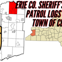 ERIE COUNTY SHERIFF'S OFFICE PATROL LOGS FOR THE TOWN OF CLARENCE  08/22/20 THROUGH 08/28/20.