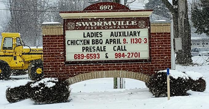 Swormville Fire Co. Chicken BBQ