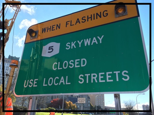 Route-5 Skyway, CLOSED