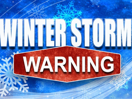 WINTER STORM WARNING REMAINS IN EFFECT UNTIL 6 PM EST THURSDAY...
