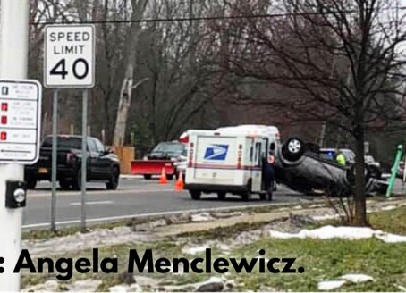 Amherst - Rollover Accident.
