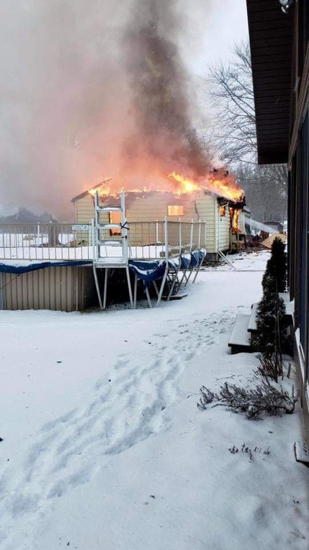 Grand Island Residential Structure Fire Causes Major Property Loss.