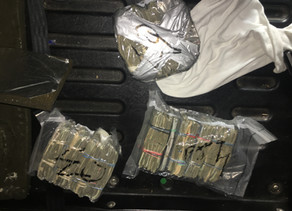 17 KILOS OF COCAINE AND $650K SEIZED FOLLOWING NARCOTICS ARRESTS.