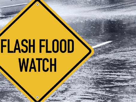Flash Flood Watch Issued January 26 at 6:18AM Until January 27 at 9:00AM.