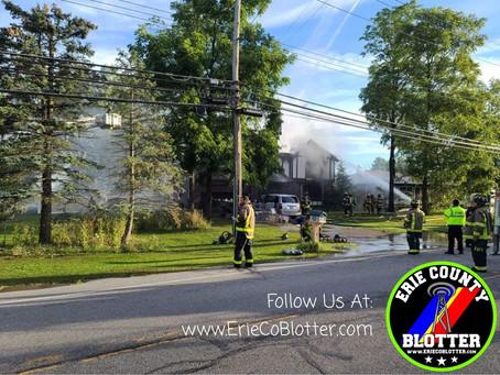 West Seneca - Structure Fire - 238 Schultz Rd.