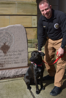 sheriff's office welcomes new k9 team for arson investigations