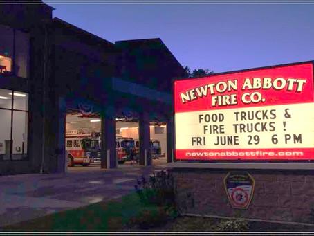 Food Trucks and Fire Trucks Sponsored by Newton Abbott Fire Co.