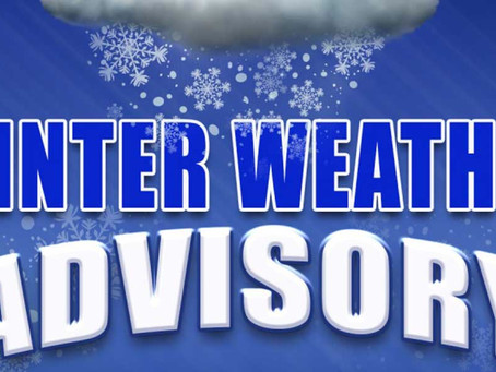 NWS Issues Winter Weather Advisory.