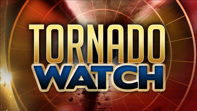 TORNADO WATCH IN EFFECT