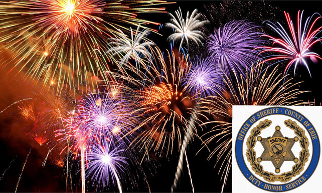 SHERIFF'S OFFICE, WOMEN & CHILDREN'S HOSPITAL URGE PUBLIC TO LEAVE THE FIREWORKS TO THE PROS