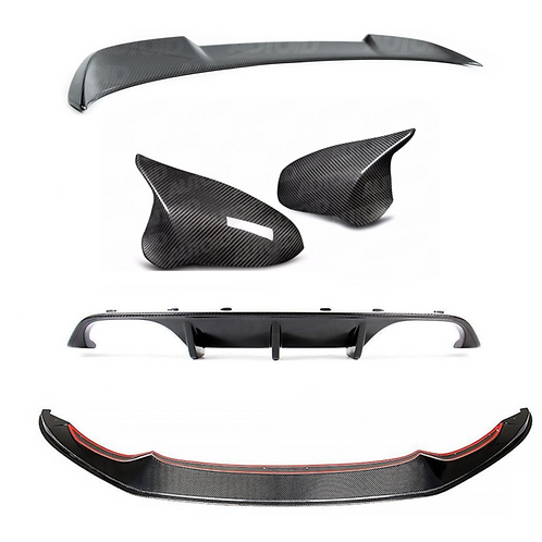 CARBON PACK FOR BMW M4 (2014-2020, F82 F83)