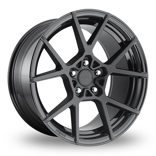 "Rotiform KPS - 18"" Black Finish 8.5J Alloy Wheels"
