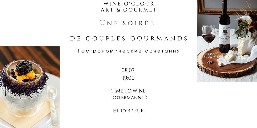 Wine O'Clock - Une soirée  de couples gourmands