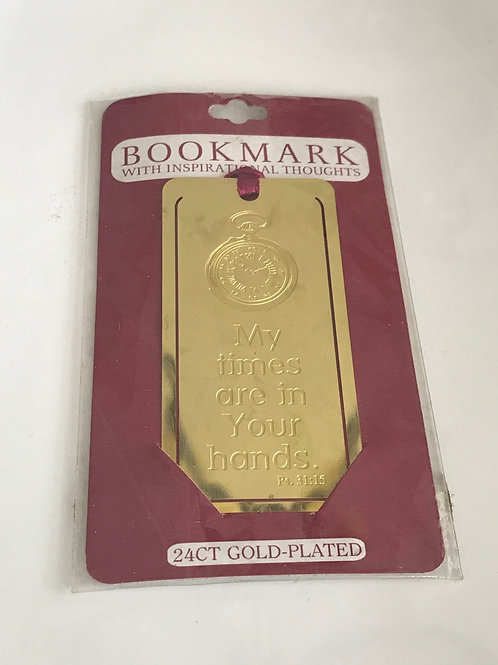 24 karat plated book mark