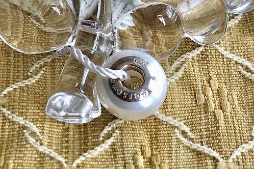 Pearl charm bracelet ( Pandora size)