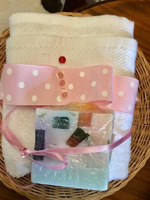 Baby girl shower gift