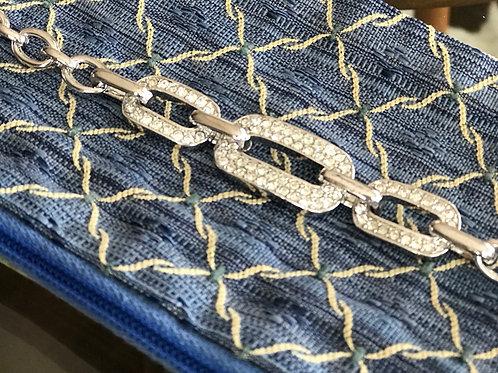 Retro vintage chain adjustable bracelet