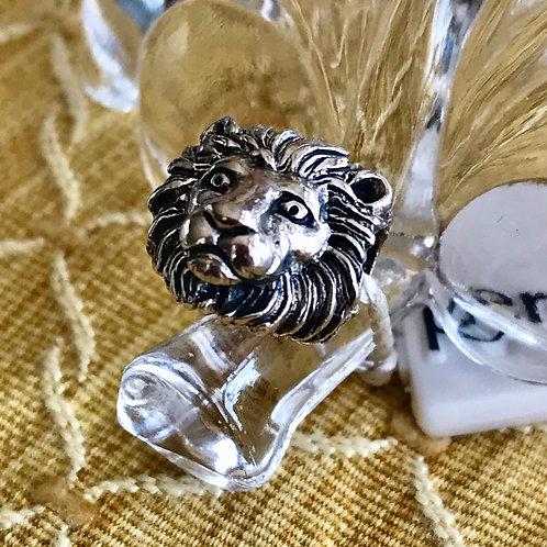 Sterling silver charm bracelet ( Pandora size )