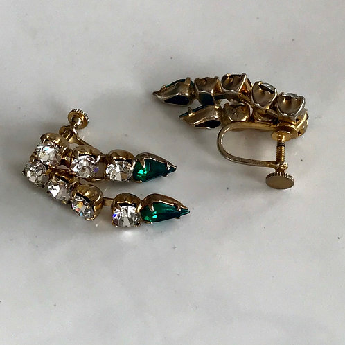 Vintage back screw earrings