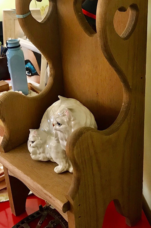"""10""""x30"""" wooden cat chair"""