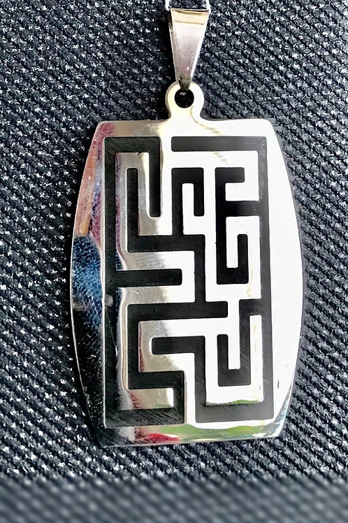 Stainless steel Versace pendant