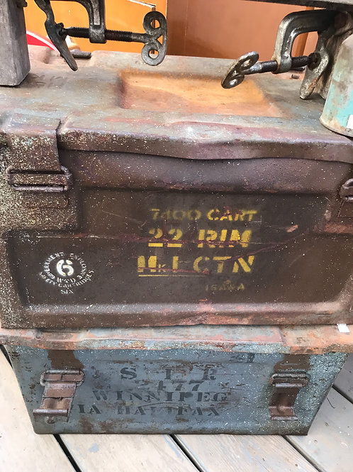 WWII Ammo box choice of color