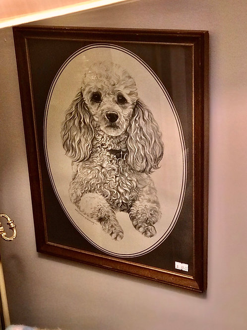 Pencil drawing puddle frame
