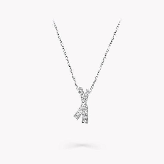 "The ""X"" Factor Diamond Pendant"