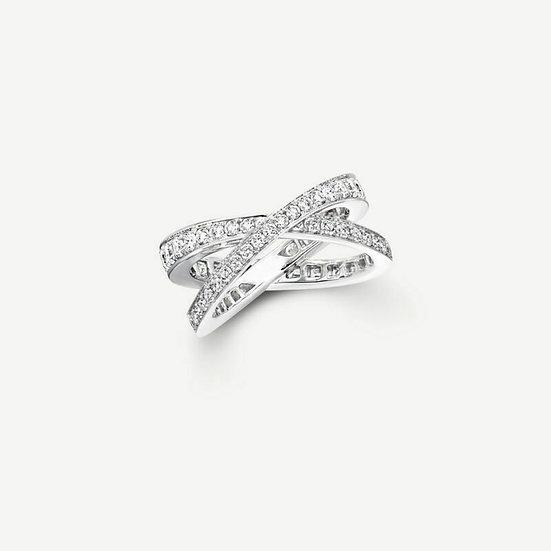 "The ""X"" Factor Diamond Ring"