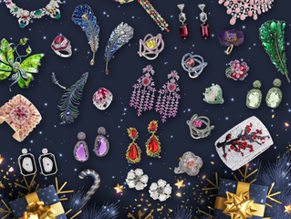 Jewellery Editorial: Christmas 2020 Holiday Greetings