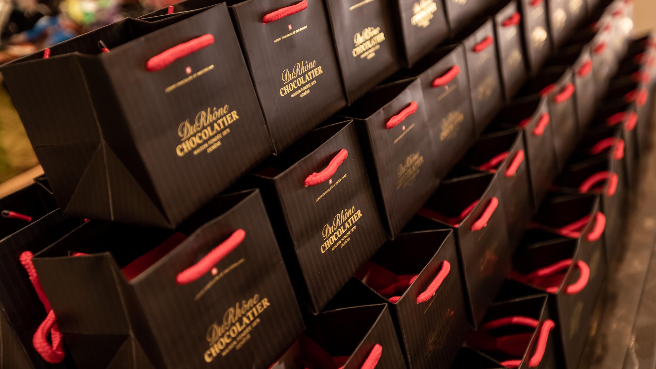 House of Geneva Du Rhône Chocolatier.