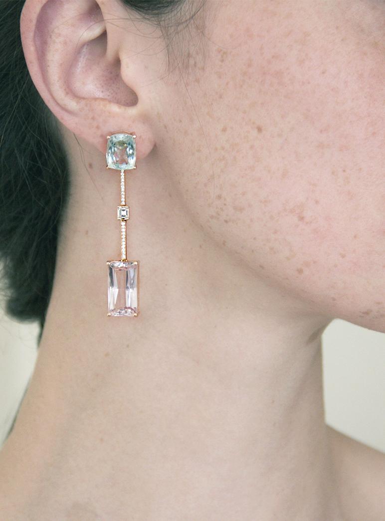 Current earrings