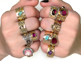 A Jewellery Designer Who is Renowned for Her Distinctive Talent in Transforming Eclectic Materials