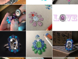 Jewellery on Instagram: Instagram Jewellery Accounts that I follow who display an artistic approach