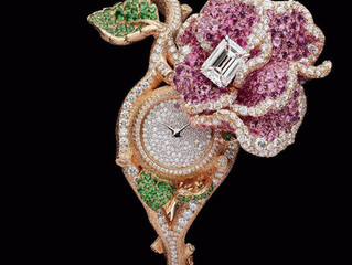 Haute Joaillerie Watches From Swiss Luxury to the finest Italian design with sophisticated mechanism