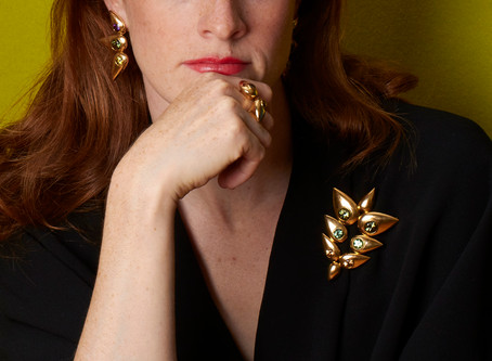 Interview with Cora Sheibani: The Jewellery Designer, Creator and Author in her own words.