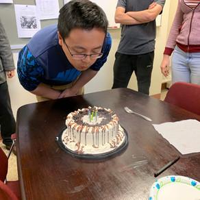 Happy Birthday to Yi!!!