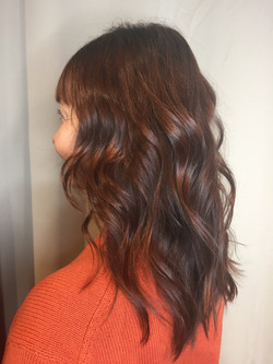 Copper Brown with lived in waves