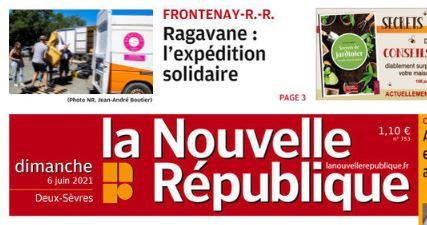 Mission Ariège : J-1. Ragavane fait la Une.