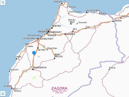 25 septembre : Kénitra, Rabat, Marrakech, Ouarzazate...