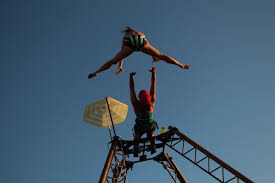 Gravir, spectacle de cirque en voltige aérienne